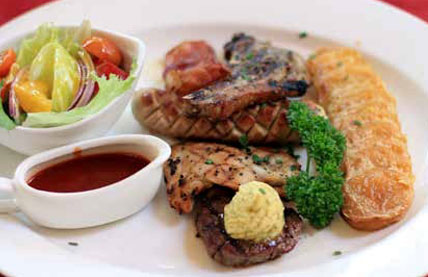 BAMBOO MIXED GRILL